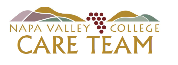 image of NVC CARE Team logo in all caps font